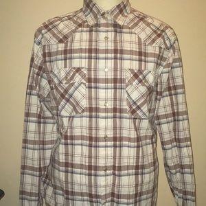 American eagle vintage slimfit buttonup men shirt